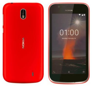 Nokia 1 red